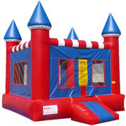16'X16' CASTLE  RED & BLUE NO.14  $367.00 DISCOUNTED PRICE $287.00